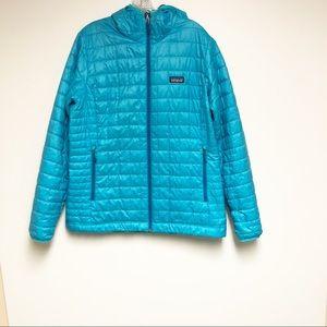 Patagonia Nano Puff Hoody Mako Blue Size XL